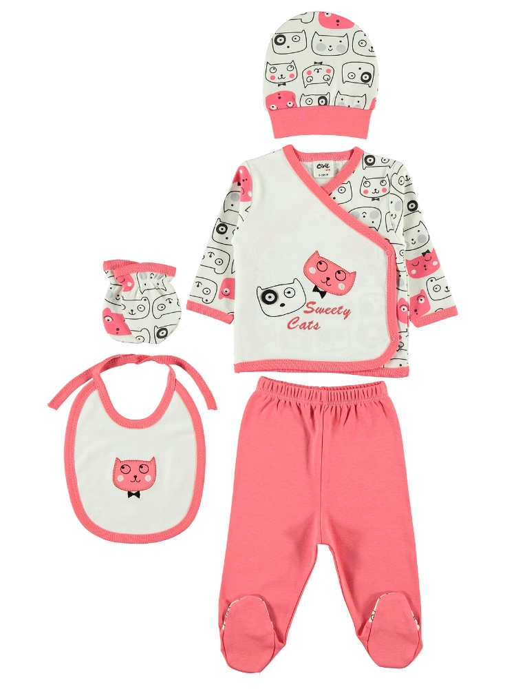 Picture of VERMILION Baby Girl-Snapsuit Sets-56 Month ( 2 Li ) 2