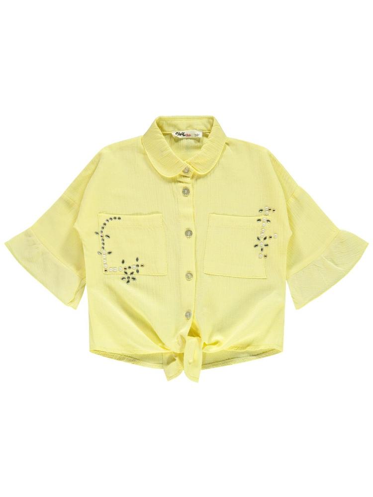 Picture of YELLOW Girls-Shirt-2-3-4-5 YEAR (1-1-1-1) 4