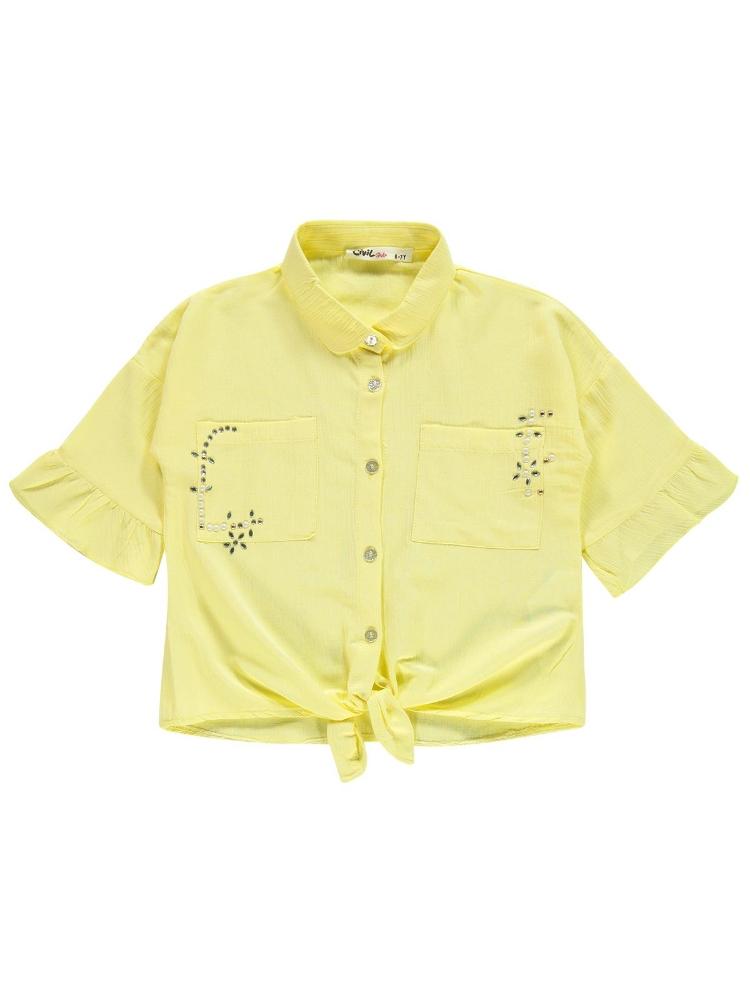 Picture of YELLOW Girls-Shirt-6-7-8-9 YEAR (1-1-1-1) 4