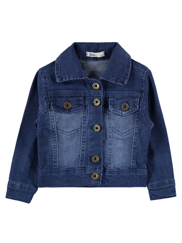 Picture of BLUE Girls-Jacket-2-3-4-5 YEAR (1-1-1-1) 4