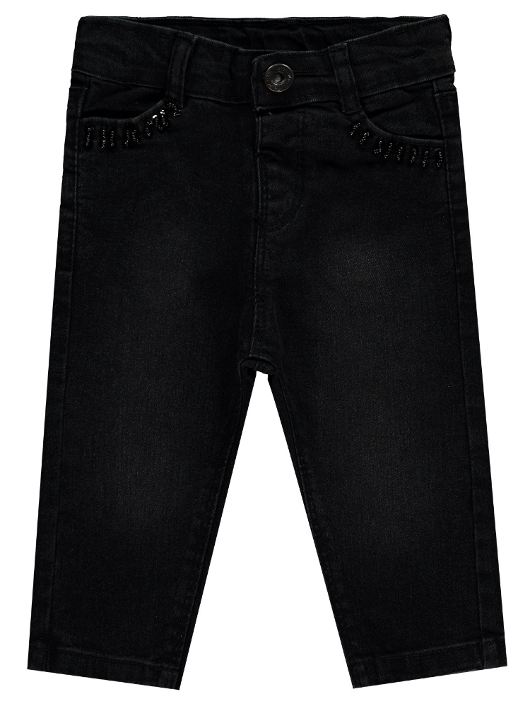 Picture of BLACK Baby Girl-Trousers-68-74-80-86 Month (1-1-1-1) 4