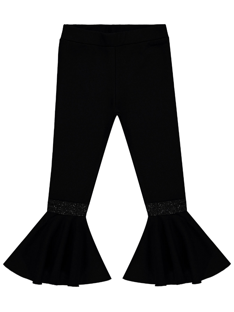 Picture of BLACK Girls-Leggings and Salwars-6-7-8-9 YEAR (1-1-1-1) 4
