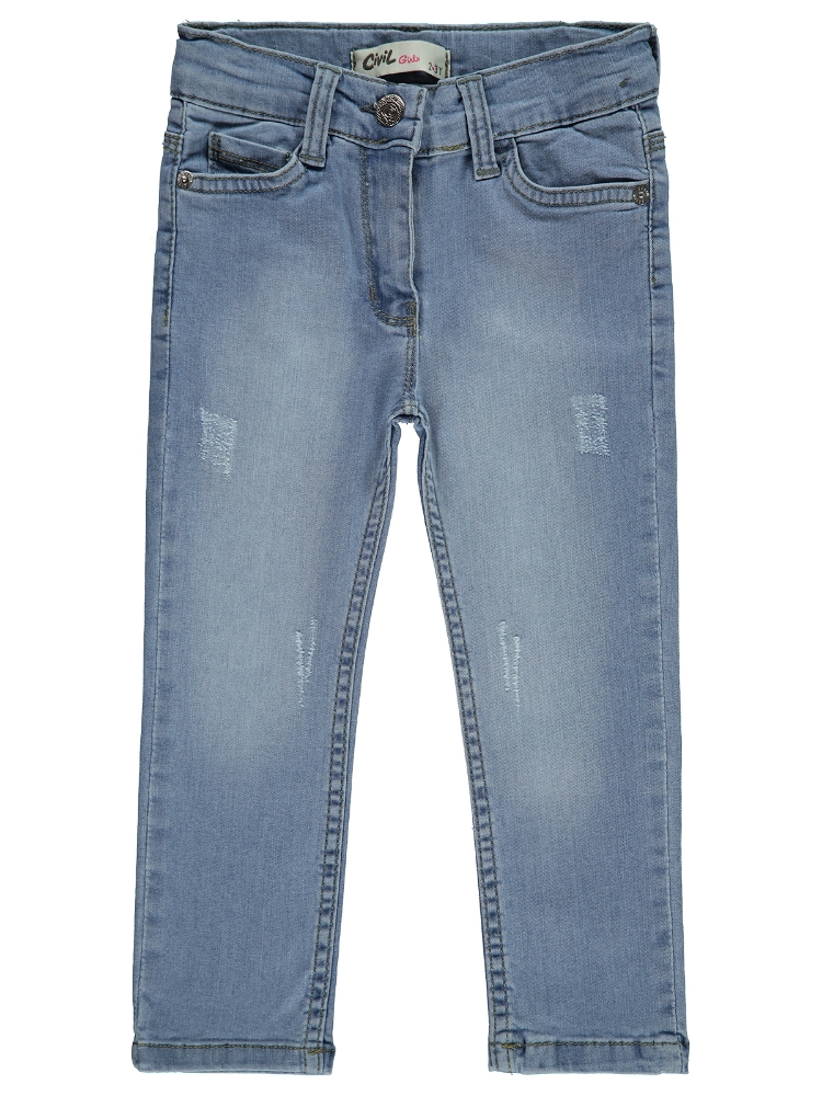 Picture of ICE BLUE Girls-Trousers-2-3-4-5 YEAR (1-1-1-1) 4