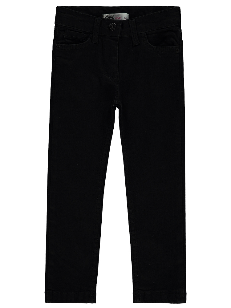 Picture of BLACK Girls-Trousers-6-7-8-9 YEAR (1-1-1-1) 4