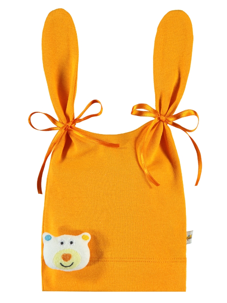 Picture of ORANGE Baby Unisex-Baby Hat, Gloves and Scarf Sets-S SIZE (3 LU) 3