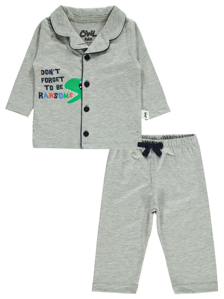 Picture of GREYMARL Baby Boy-Pajama Set-68-74-80-86 Month (1-1-1-1) 4