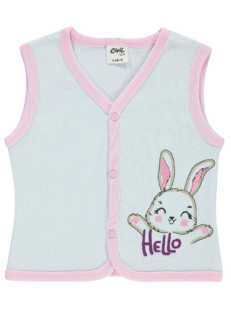 Picture of PINK Baby Unisex-Vest-68-74-80-86 Month (1-1-1-1) 4