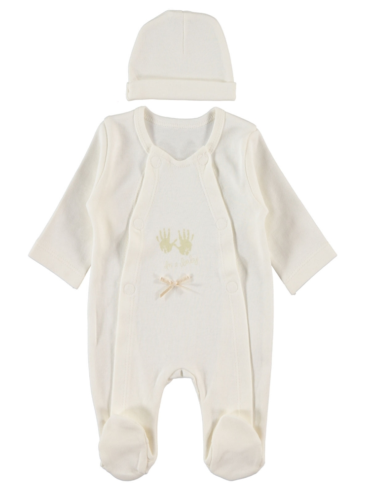 Picture of BEIGE Baby Unisex-Bodysuit-48 Month (4 LU ) 4