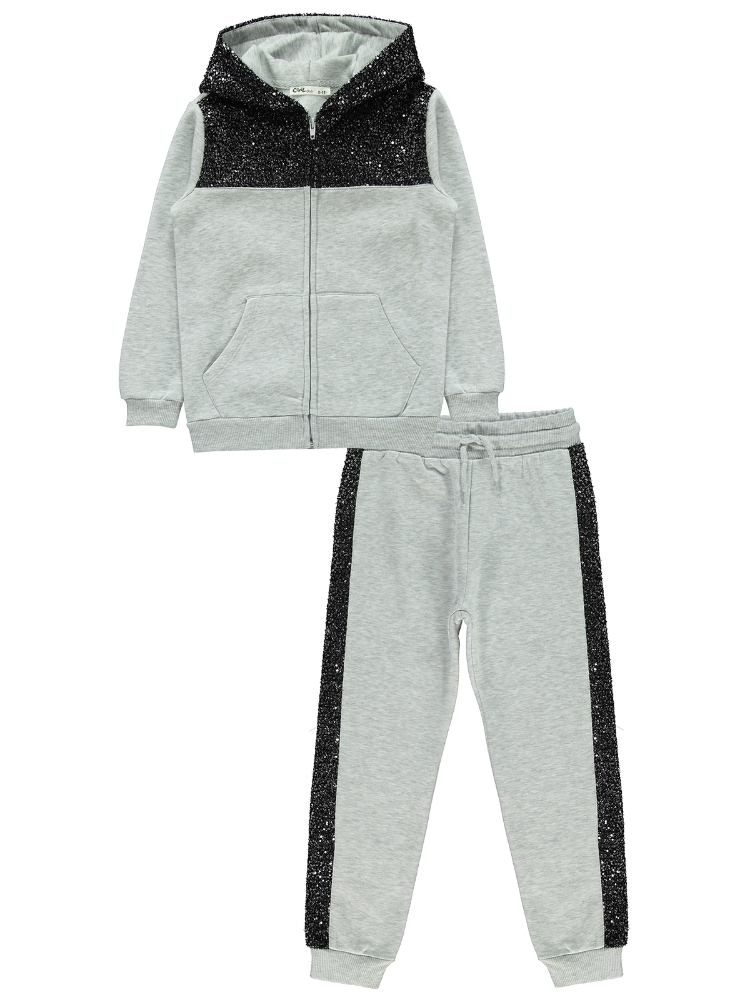 Picture of SNOW MARL Girls-Tracksuit-6-7-8-9 YEAR (1-1-1-1) 4
