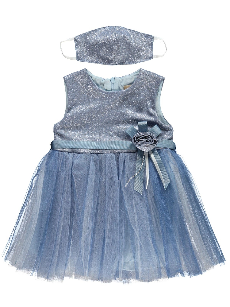 Picture of BLUE Girls-Dressy-2-3-4-5 YEAR (1-1-1-1) 4